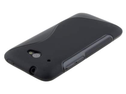 Wave Case for HTC Desire 601 - Frosted Black/Black