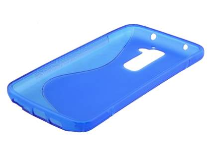 LG G2 Wave Case - Frosted Blue/Blue