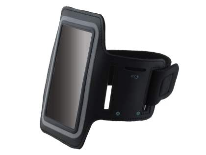 Universal Sports Arm Band for Samsung Ativ S I8750 - Classic Black
