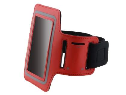 Universal Sports Arm Band for LG Optimus L9 P760 - Red
