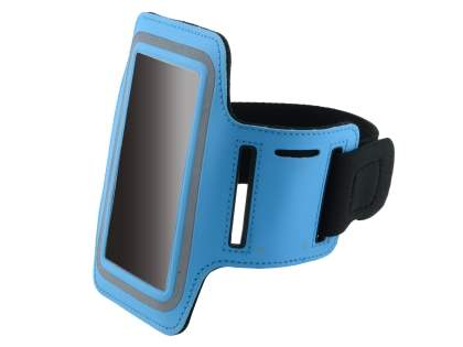 Universal Sports Arm Band for LG Optimus L9 P760 - Sky Blue