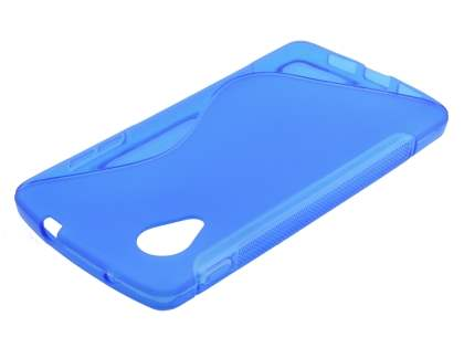 Wave Case for LG Google Nexus 5 - Frosted Blue/Blue