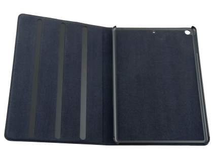 Premium Genuine Leather Case with Stand for iPad Air 1st Gen - Classic Black