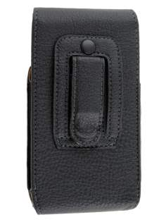 Textured Synthetic Leather Vertical Belt Pouch for LG Google Nexus 5
