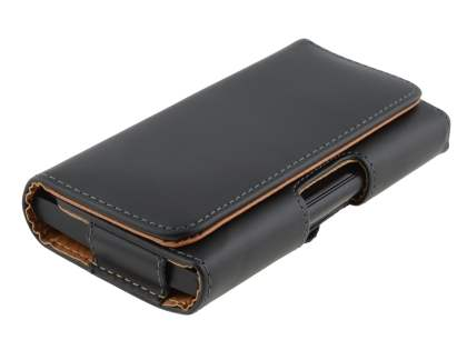 Smooth Synthetic Leather Belt Pouch for LG Nexus 5