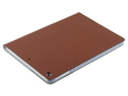 Premium Genuine Leather Slim Portfolio Case with Stand for iPad Air 1st Gen - Brown