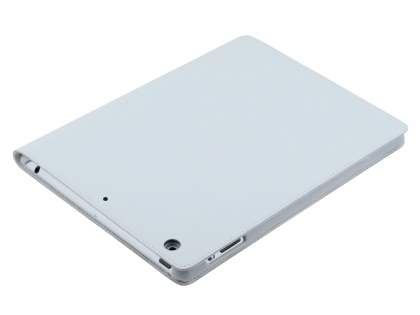 Premium Genuine Leather Slim Portfolio Case with Stand for iPad Air 1st Gen - Pearl White