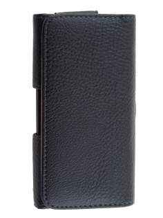 Textured Synthetic Leather Belt Pouch for LG G2 - Belt Pouch