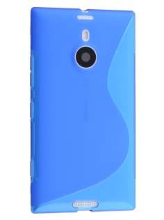 Wave Case for Nokia Lumia 1520 - Frosted Blue/Blue Soft Cover