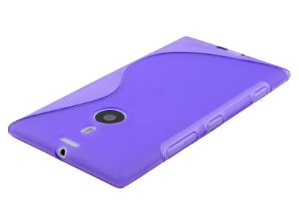 Nokia Lumia 1520 Wave Case - Frosted Purple/Purple