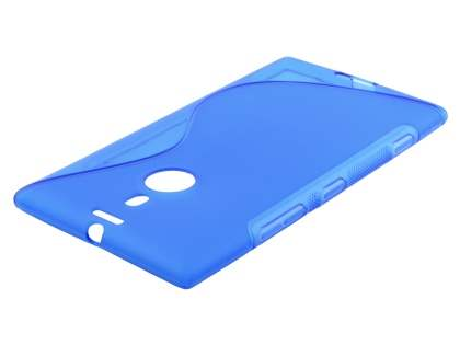 Nokia Lumia 1520 Wave Case - Frosted Blue/Blue