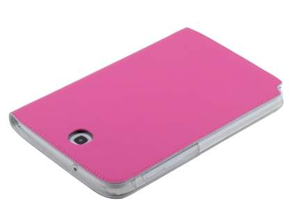 Premium Slim Genuine Leather Portfolio Case with Stand for Samsung Galaxy Note 8.0 - Pink