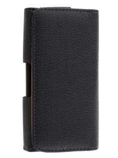 Textured Synthetic Leather Belt Pouch for HTC Desire 300