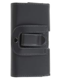 Smooth Synthetic Leather Belt Pouch for HTC Desire 601