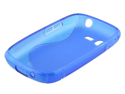 Samsung Galaxy Pocket Neo S5310 Wave Case - Frosted Blue/Blue