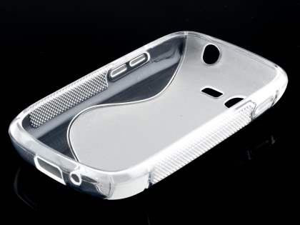 Samsung Galaxy Pocket Neo S5310 Wave Case - Frosted Clear/Clear