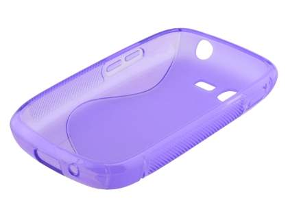 Samsung Galaxy Pocket Neo S5310 Wave Case - Frosted Purple/Purple