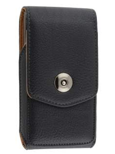 Textured Synthetic Leather Vertical Belt Pouch for Huawei Ascend Y320