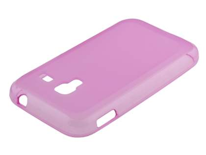 Samsung Galaxy Ace Plus S7500 Frosted TPU Case - Pink