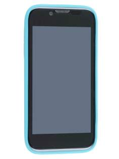 ZTE Telstra Easy Touch 4G Frosted Colour TPU Gel Case - Sky Blue