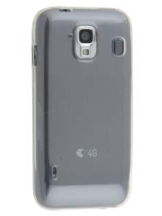 Frosted Colour TPU Gel Case for ZTE Telstra Easy Touch 4G - Clear Soft Cover