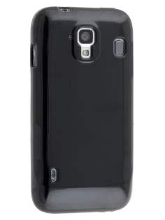 ZTE Telstra Easy Touch 4G Frosted Colour TPU Gel Case - Classic Black