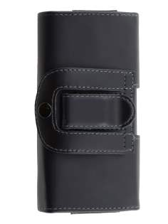 Smooth Synthetic Leather Belt Pouch for ZTE Telstra Easy Touch 4G  - Classic Black