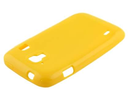 ZTE Telstra Easy Touch 4G Frosted Colour TPU Gel Case - Canary Yellow