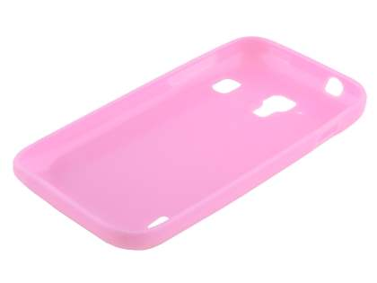 Frosted Colour TPU Gel Case for ZTE Telstra Easy Touch 4G - Baby Pink