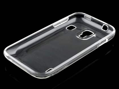 Frosted Colour TPU Gel Case for ZTE Telstra Easy Touch 4G - Clear