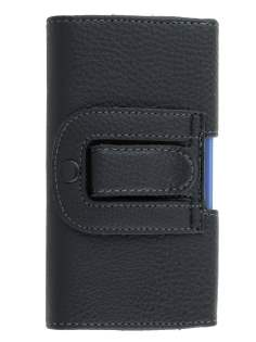 Textured Synthetic Leather Belt Pouch (Bumper Case Compatible) for Nokia Lumia 925