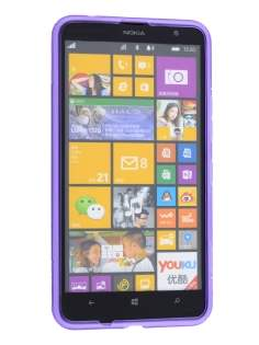 Nokia Lumia 1320 Wave Case - Frosted Purple/Purple