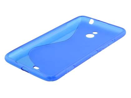 Nokia Lumia 1320 Wave Case - Frosted Blue/Blue