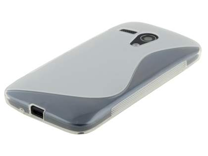 Motorola Moto G Wave Case - Frosted Clear/Clear