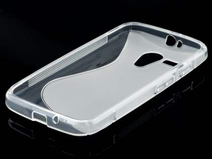 Wave Case for Motorola Moto G - Frosted Clear/Clear