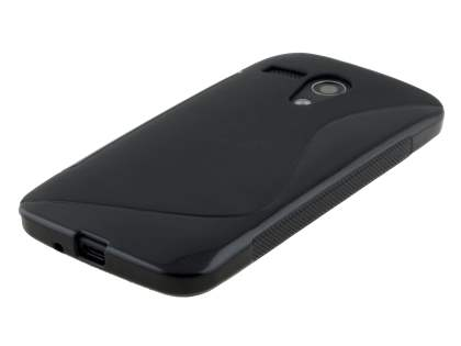 Motorola Moto G Wave Case - Frosted Black/Black