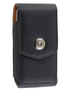 Textured Synthetic Leather Vertical Belt Pouch for Motorola Moto G - Belt Pouch