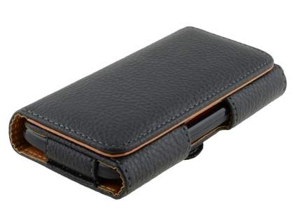 Textured Synthetic Leather Belt Pouch for Motorola Moto G