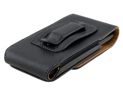 Textured Synthetic Leather Vertical Belt Pouch for Motorola Moto G