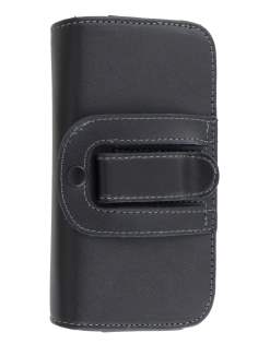 Extra-tough Genuine Leather ShineColours belt pouch (Bumper Case Compatible) for Huawei Ascend G510