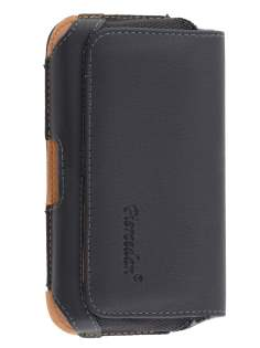 Nokia Lumia 520 Synthetic Leather Belt Pouch - Classic Black Belt Pouch