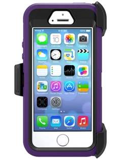 iPhone SE/5s/5 Impact Case - Purple/Black