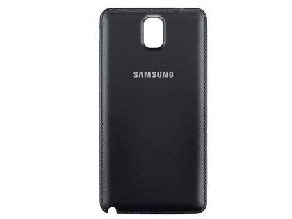 Genuine Samsung Galaxy Note 3 Battery Cover - Classic Black