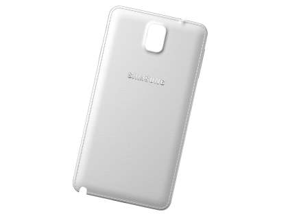 Genuine Samsung Galaxy Note 3 Battery Cover - Pearl White