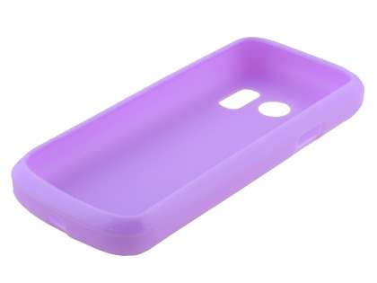 Frosted Colour TPU Gel Case for ZTE Telstra T96 - Purple