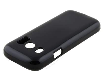 ZTE Telstra T96 Frosted Colour TPU Gel Case - Classic Black