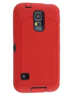 Samsung Galaxy S5 Defender Case - Red Impact Case