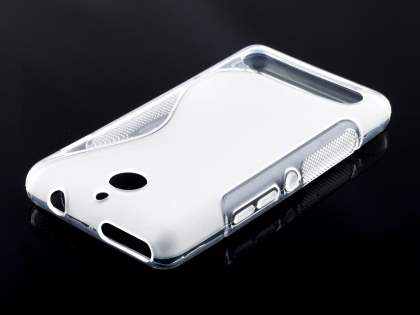 Sony Xperia E1 Wave Case - Frosted Clear/Clear