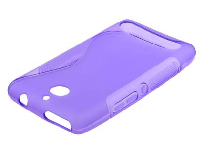 Sony Xperia E1 Wave Case - Frosted Purple/Purple