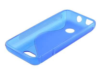Nokia 208 Wave Case - Frosted Blue/Blue